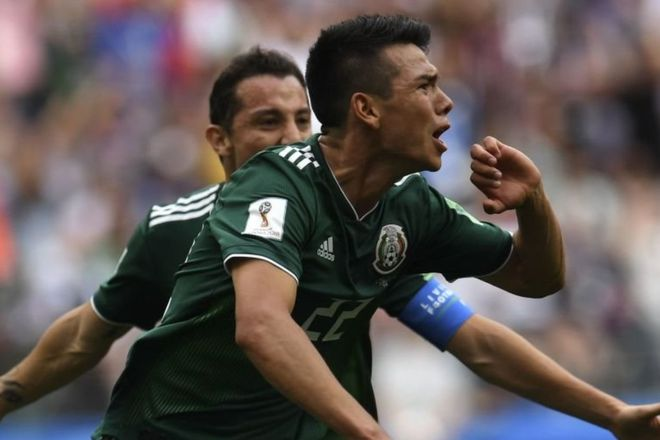 Hirving Lozano Mexico Alemania