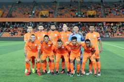 Felda United first eleven against PKNS 21/1/2017