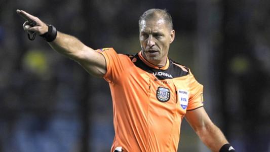 Nestor Pitana Boca Chacarita Superliga 17/18 Fecha 5
