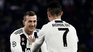 Federico Bernardeschi Cristiano Ronaldo Juventus Atletico Madrid 120319