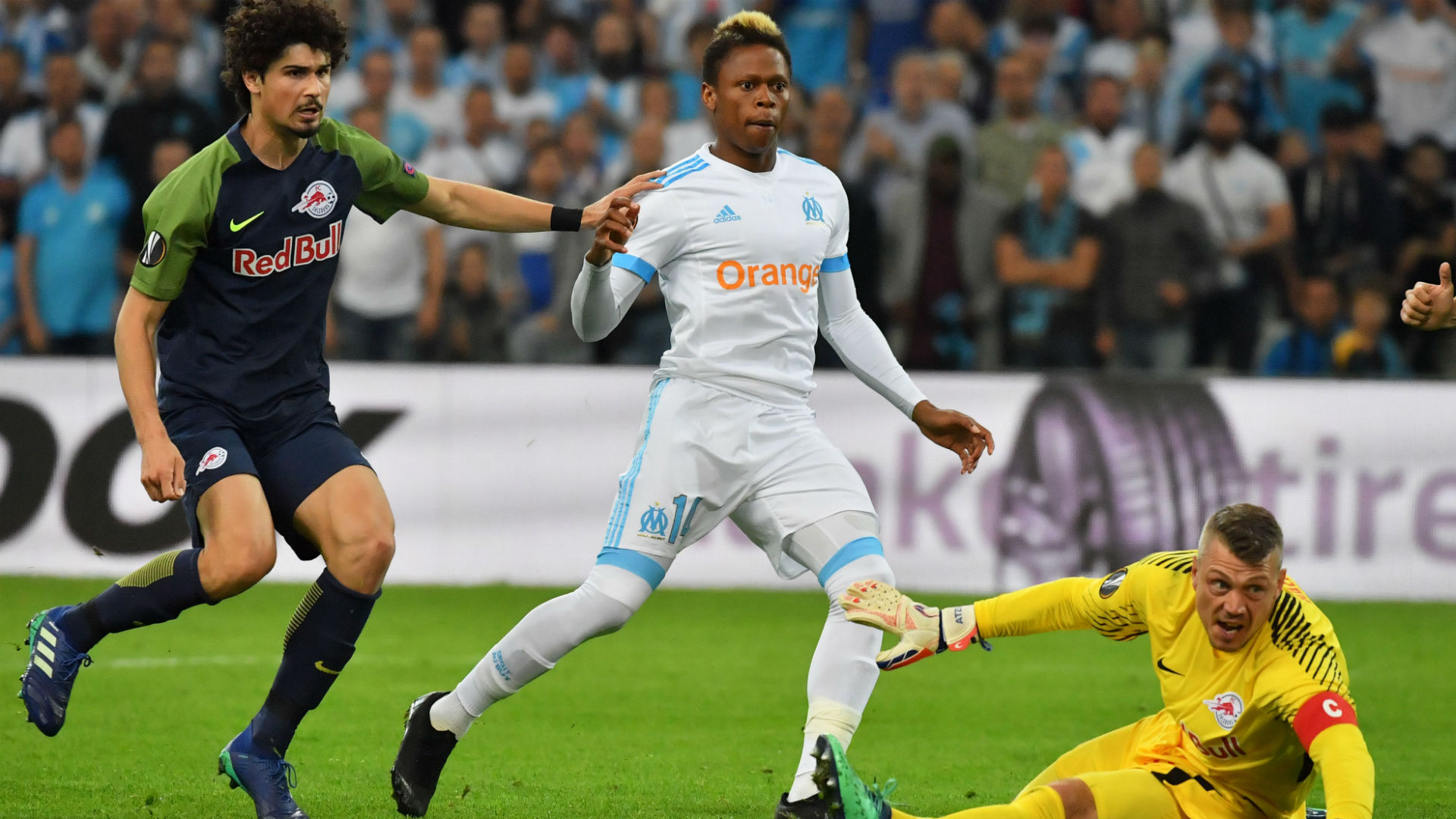 Salzburg force extra time in Europa League semi-final with Marseille