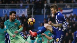 Aleksandar Katai Lionel Messi Deportivo Alaves Barcelona
