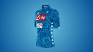 La nuova maglia del Napoli