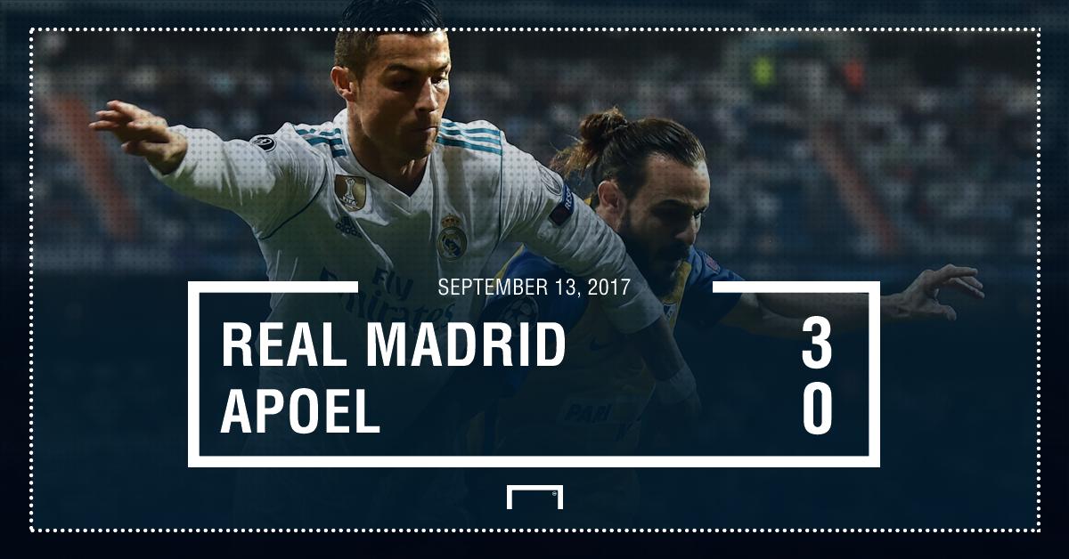 Real Madrid APOEL graphic