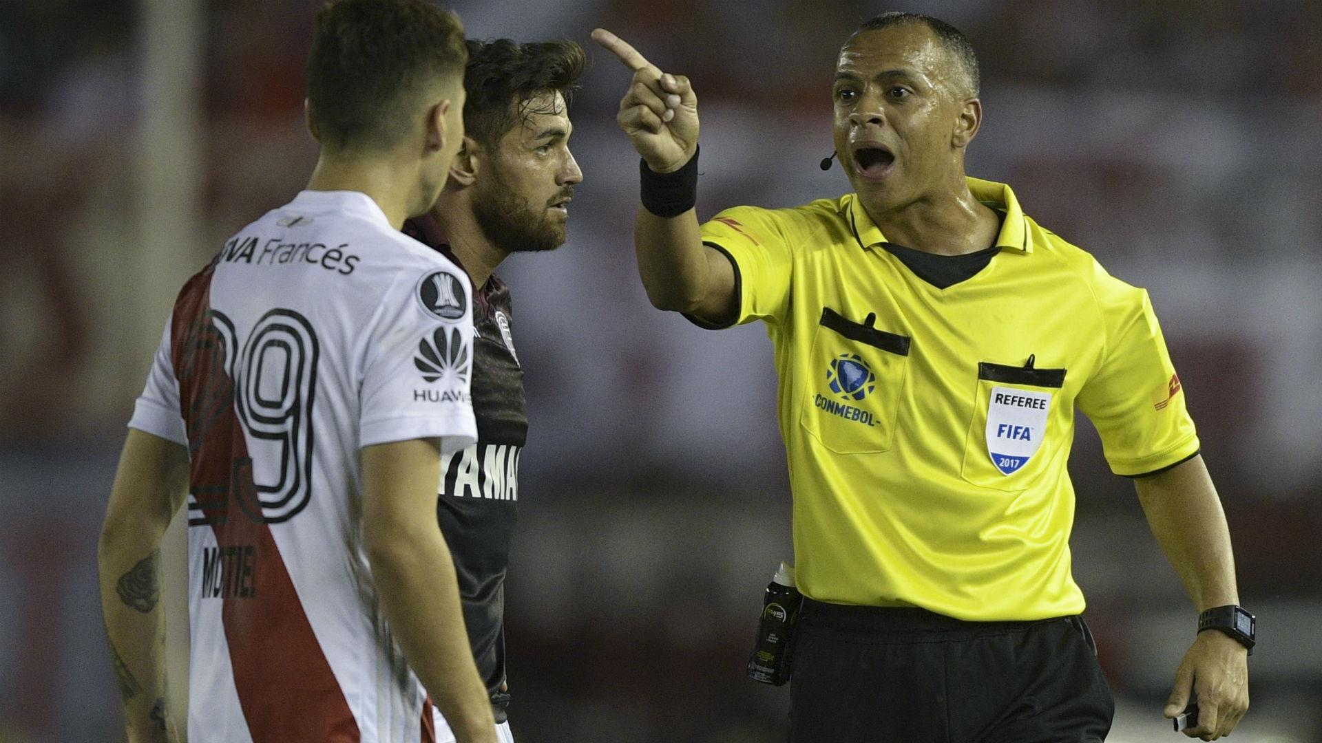 Sampaio Lanus River Copa Libertadores 2018