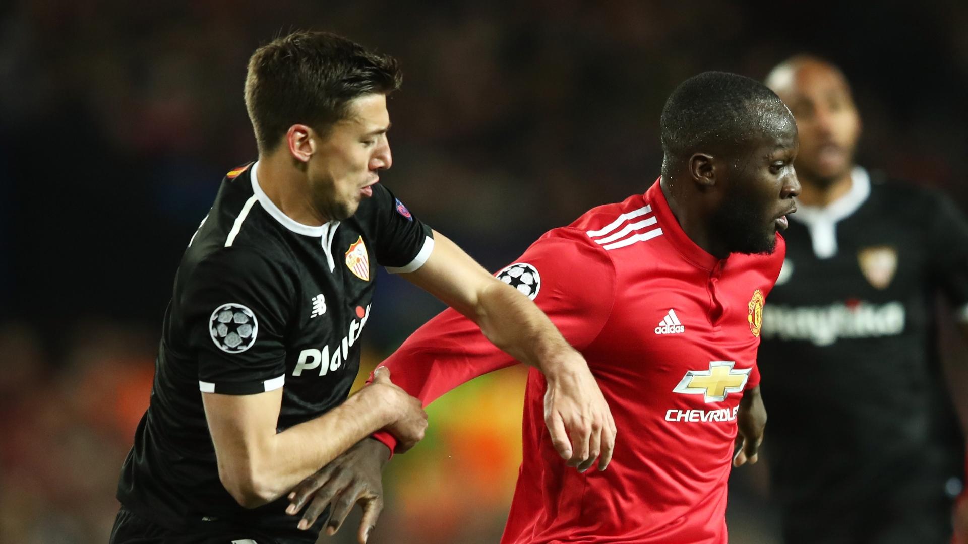 Clement Lenglet, Sevilla, Romelu Lukaku, Manchester United