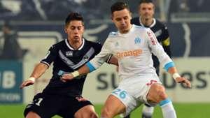 Florian Thauvin Theo Pellenard Bordeaux Marseille Ligue 1 19112017