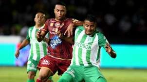 Raul Loaiza Fainer Torijano Atletico Nacional Deportes Tolima Liga Aguila 06062018