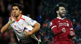Luis Suarez Mohamed Salah