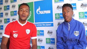 Nico Manu and Likhona Young Bafana