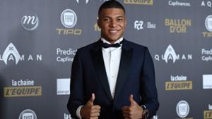 Kylian Mbappe Ballon d'Or 2018