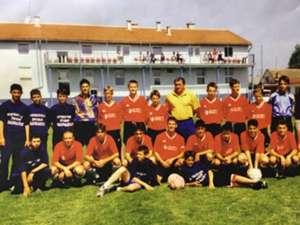 Luka modric danijel subasic - zadar youth - 1996