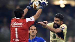 Oribe Peralta Club America Jesus Corona Cruz Azul