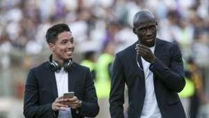 Samir Nasri Eliaquim Mangala Manchester City