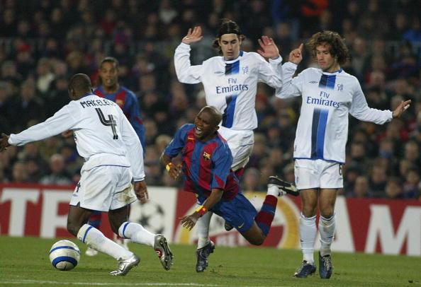 Eto'o Chelsea Barcelona 2005