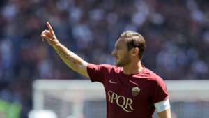 Francesco Totti Roma Lazio Serie A 04302017