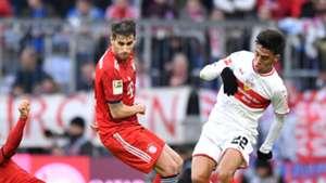 Javi Martinez FC Bayern Gonzalez Stuttgart Bundesliga 270119