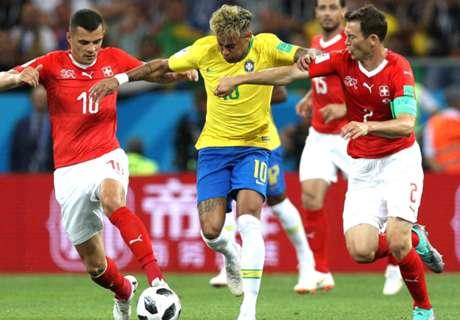 La Suisse tient tête au Brésil