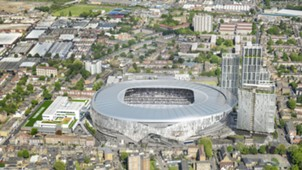 New Spurs stadium