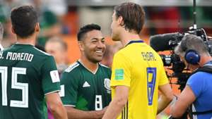Marco Fabian Mexico Sweden World Cup