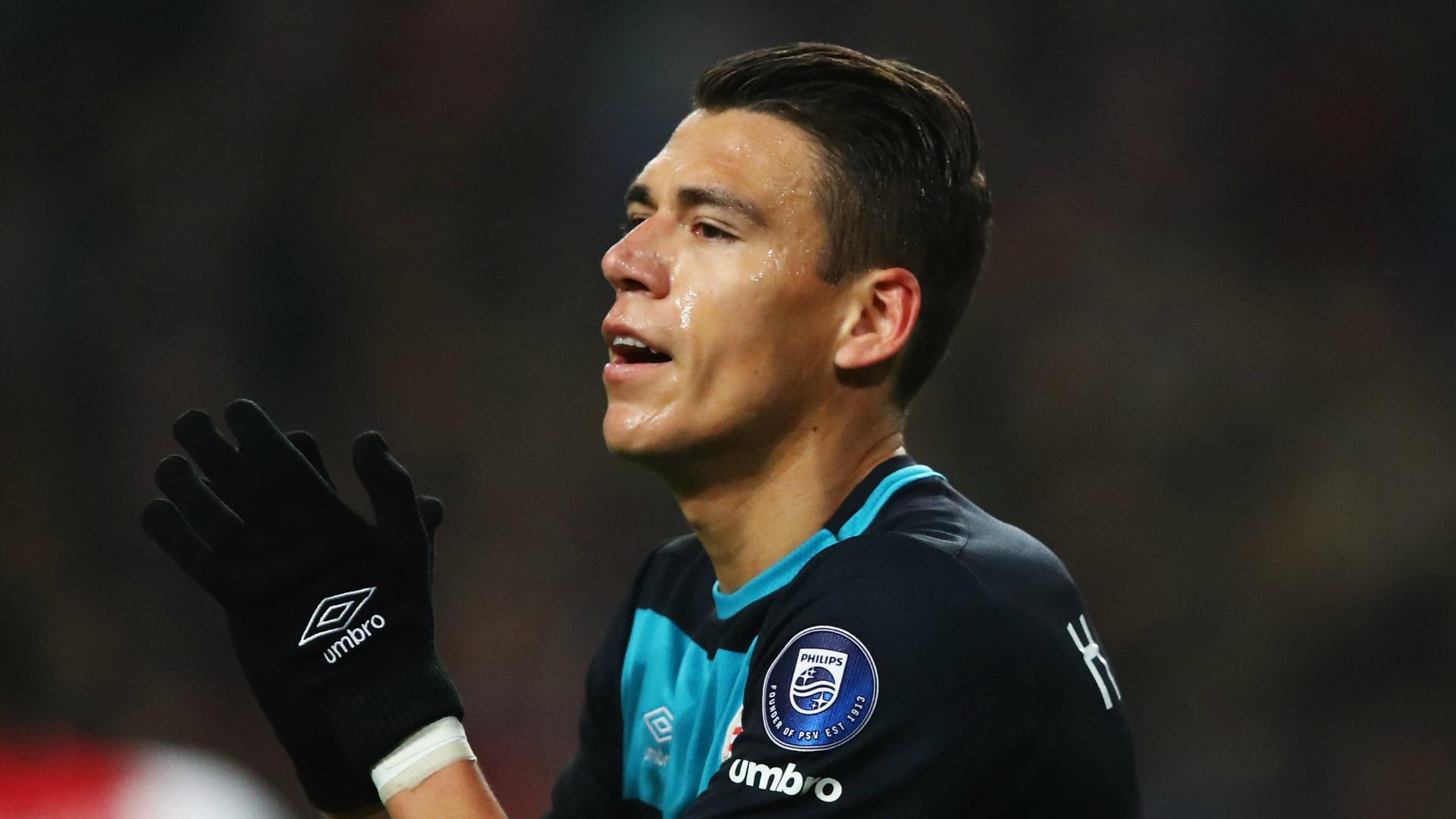 Hector Moreno PSV Eindhoven defender