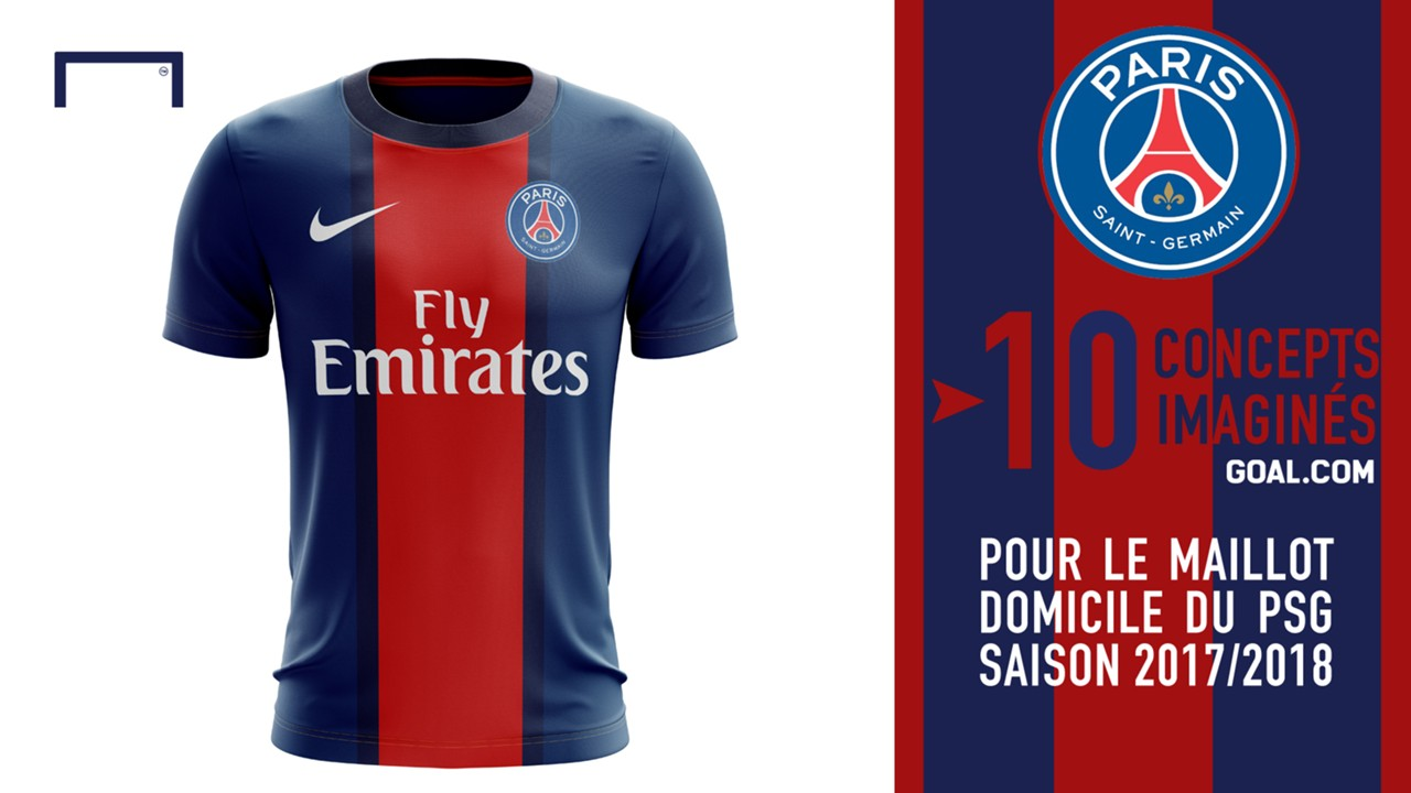 10 concepts pour le maillot domicile 2017 2018 du psg. Black Bedroom Furniture Sets. Home Design Ideas