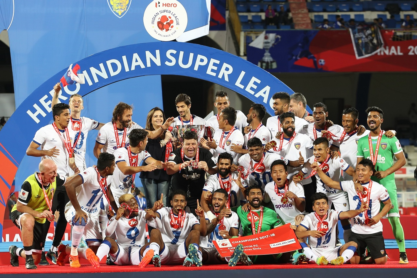 Bengaluru FC Chennaiyin FC ISL 2017/18 final