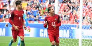 André Silva Adrien Silva Portugal Mexico Confederations Cup