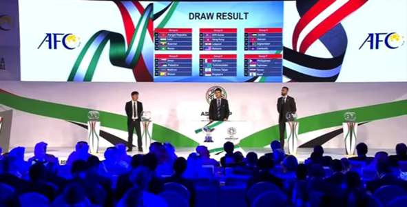 Asian Cup 2019 Draw