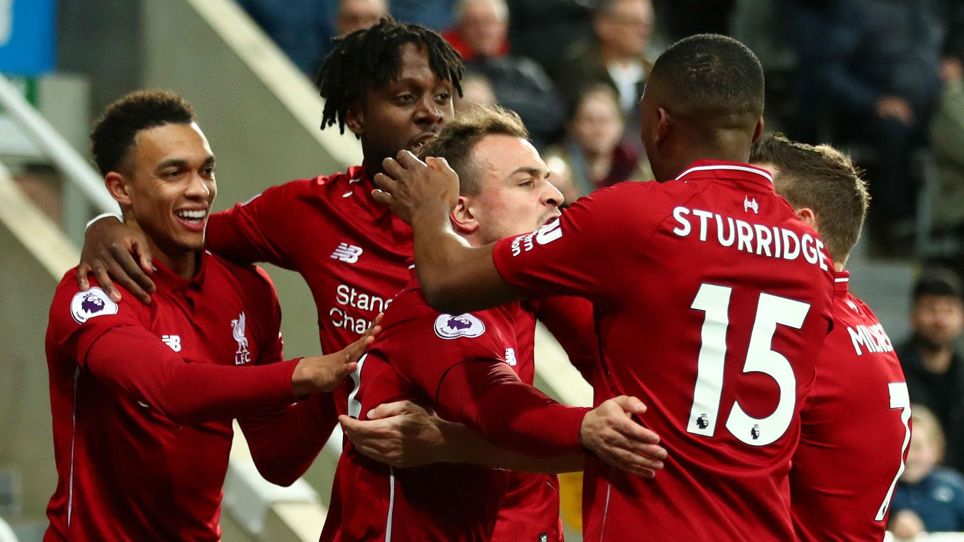 Liverpool Newcastle Premier League 2019