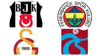 Besiktas Fenerbahce Galatasaray Trabzonspor