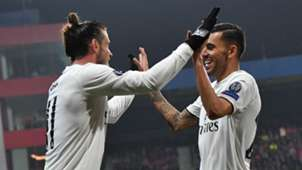 Gareth Bale Dani Ceballos Viktoria Plzen Real Madrid Champions League 07112018