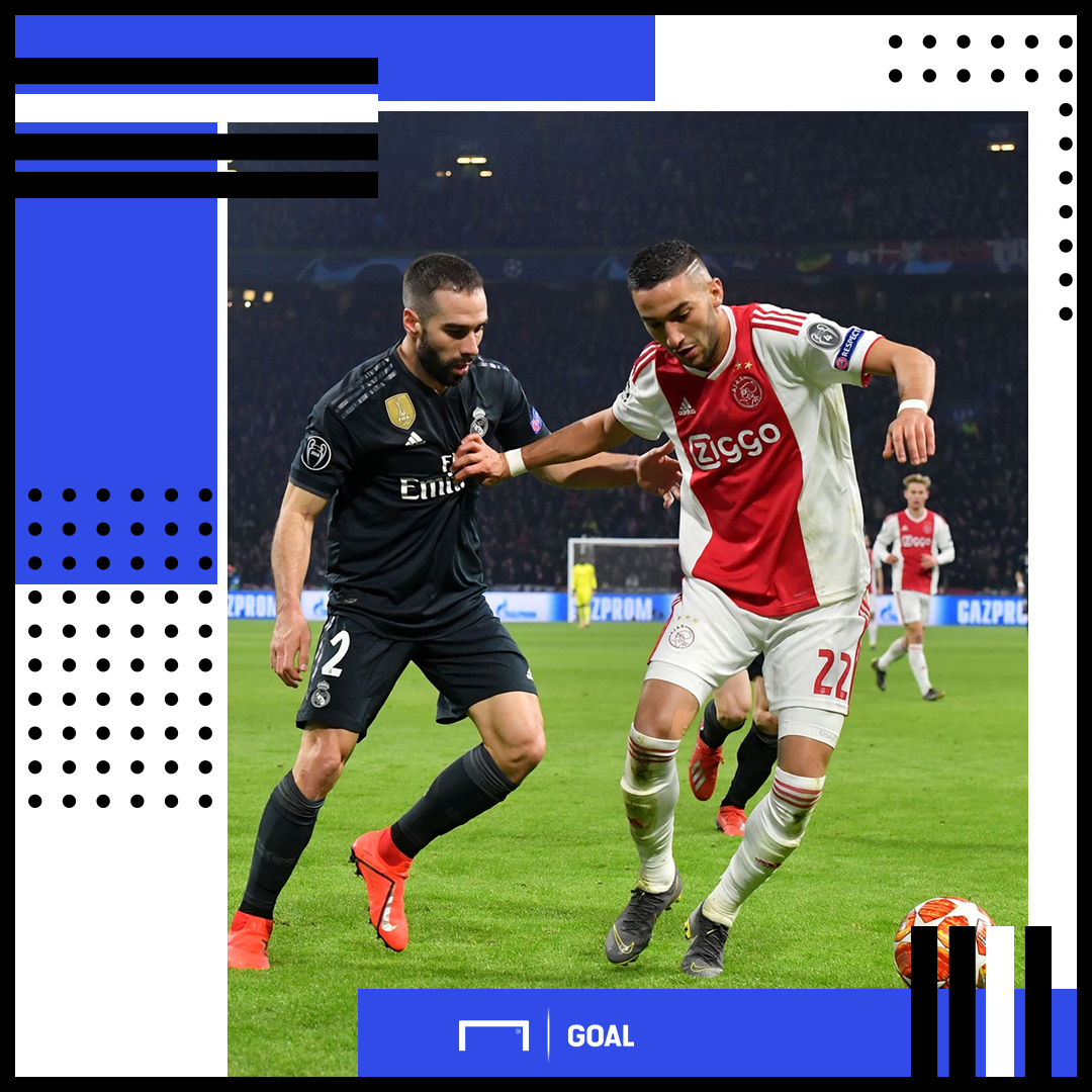 Hakim Ziyech Ajax Real Madrid PS