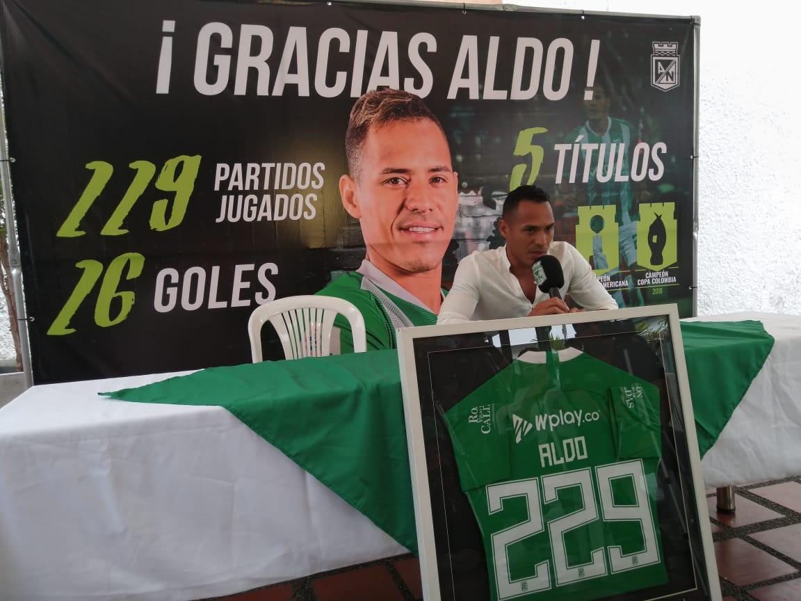 Despedida Aldo Leao Ramírez Atlético Nacional 2019