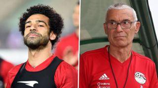 Mohamed Salah, Hector Cuper
