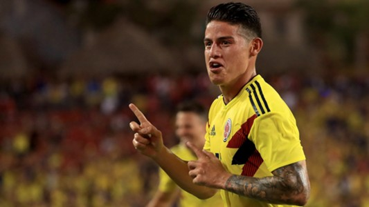 James Rodriguez Colombia 12102018