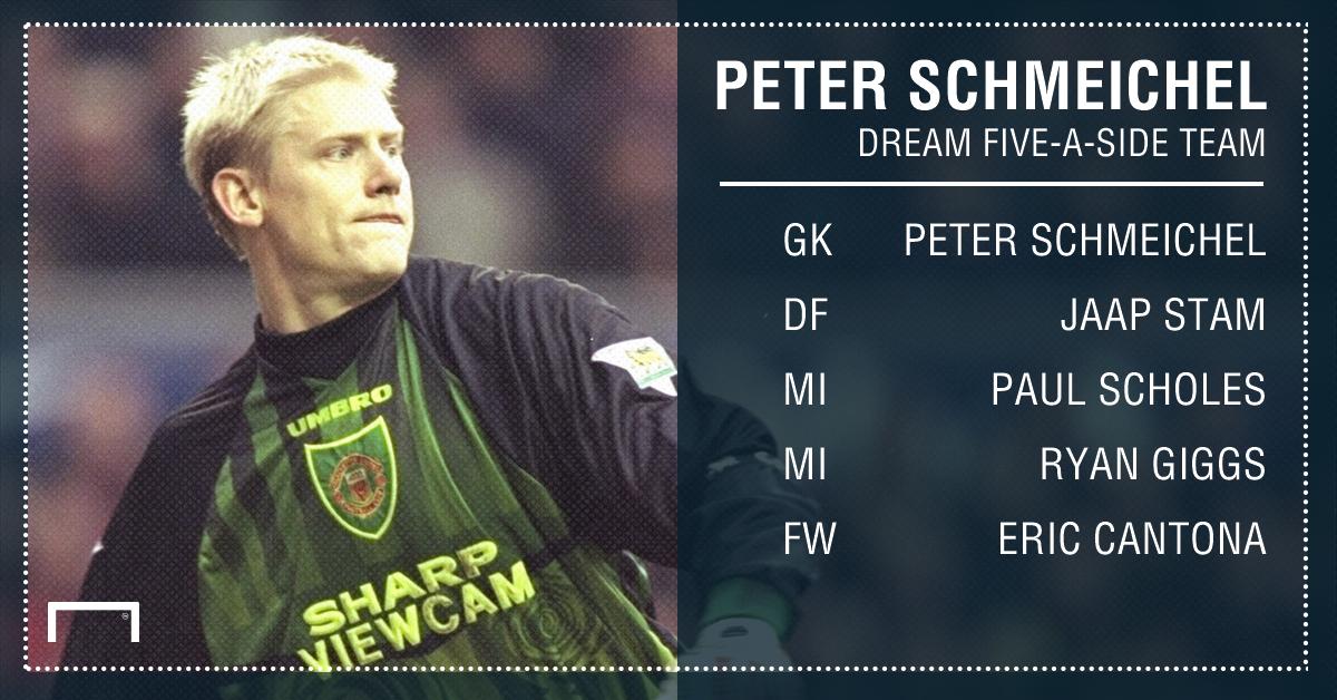 Peter Schmeichel five-a-side