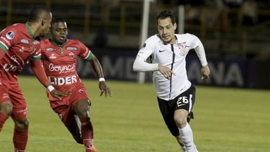 Rodriguinho Patriotas Corinthians Copa Sudamericana 28062017