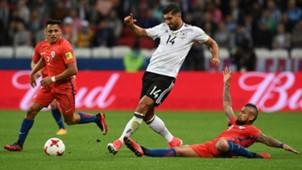 Emre Can, Alexis Sanchez, Arturo Vidal, Confed Cup, Chile Deutschland, 22062017