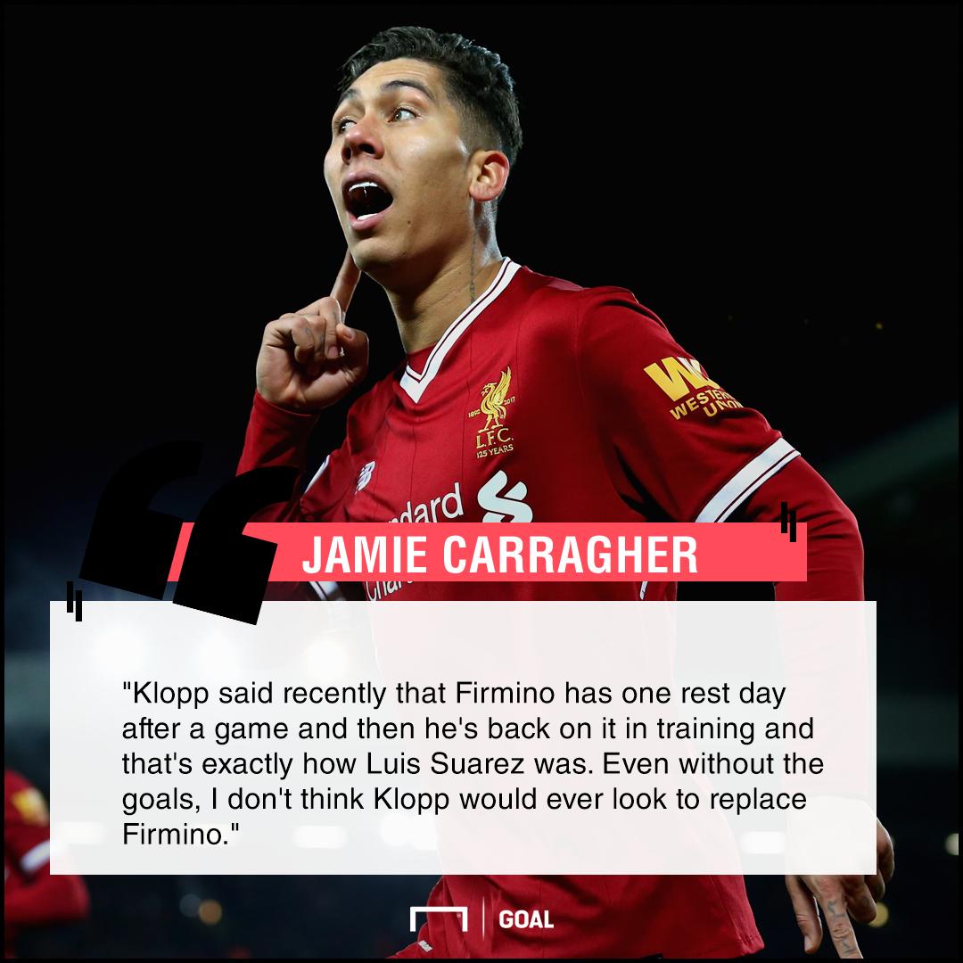 Roberto Firmino Luis Suarez qualities Jamie Carragher