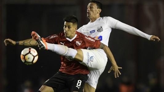 Meza Pituca Independiente Santos Copa Libertadores 21082018