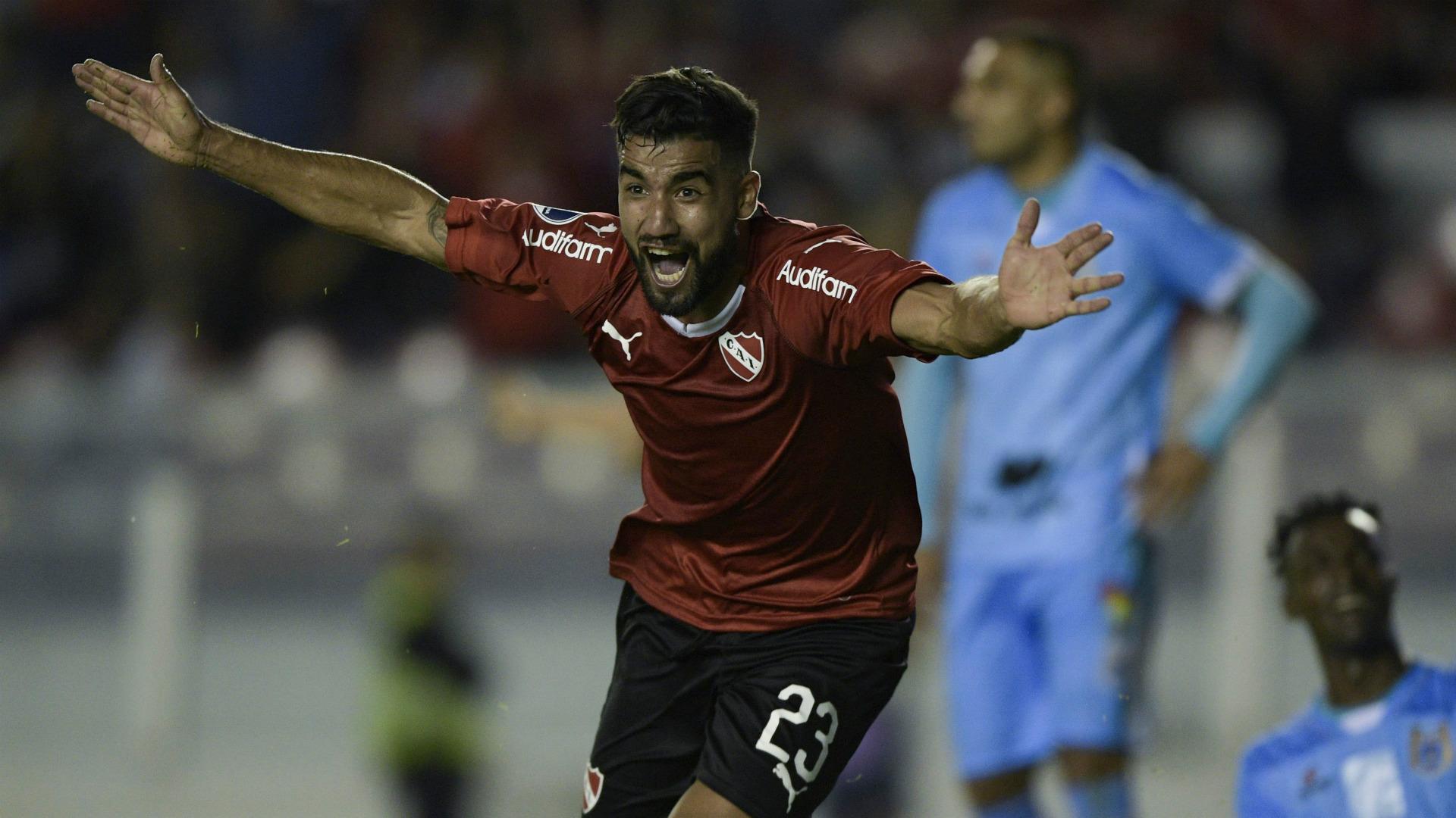 Britez Independiente Binacional Copa Sudamericana Primera Fase Partido Ida