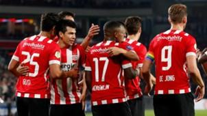 Erick Gutiérrez Hirving Lozano PSV