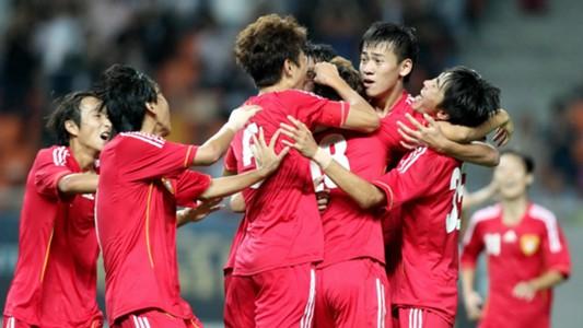 Image result for จีน U-20 วอล์คเอาท์เกม ด.4 เยอรมัน เหตุแฟนชูธงธิเบต