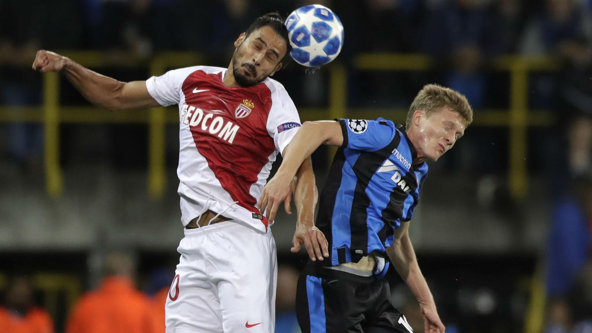 Nacer Chadli Brugge Monaco UEFA Champions League 24102018