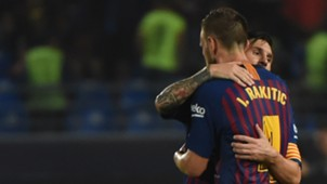 Rakitic Messi Barcelona