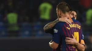 Rakitic Messi Barcelona