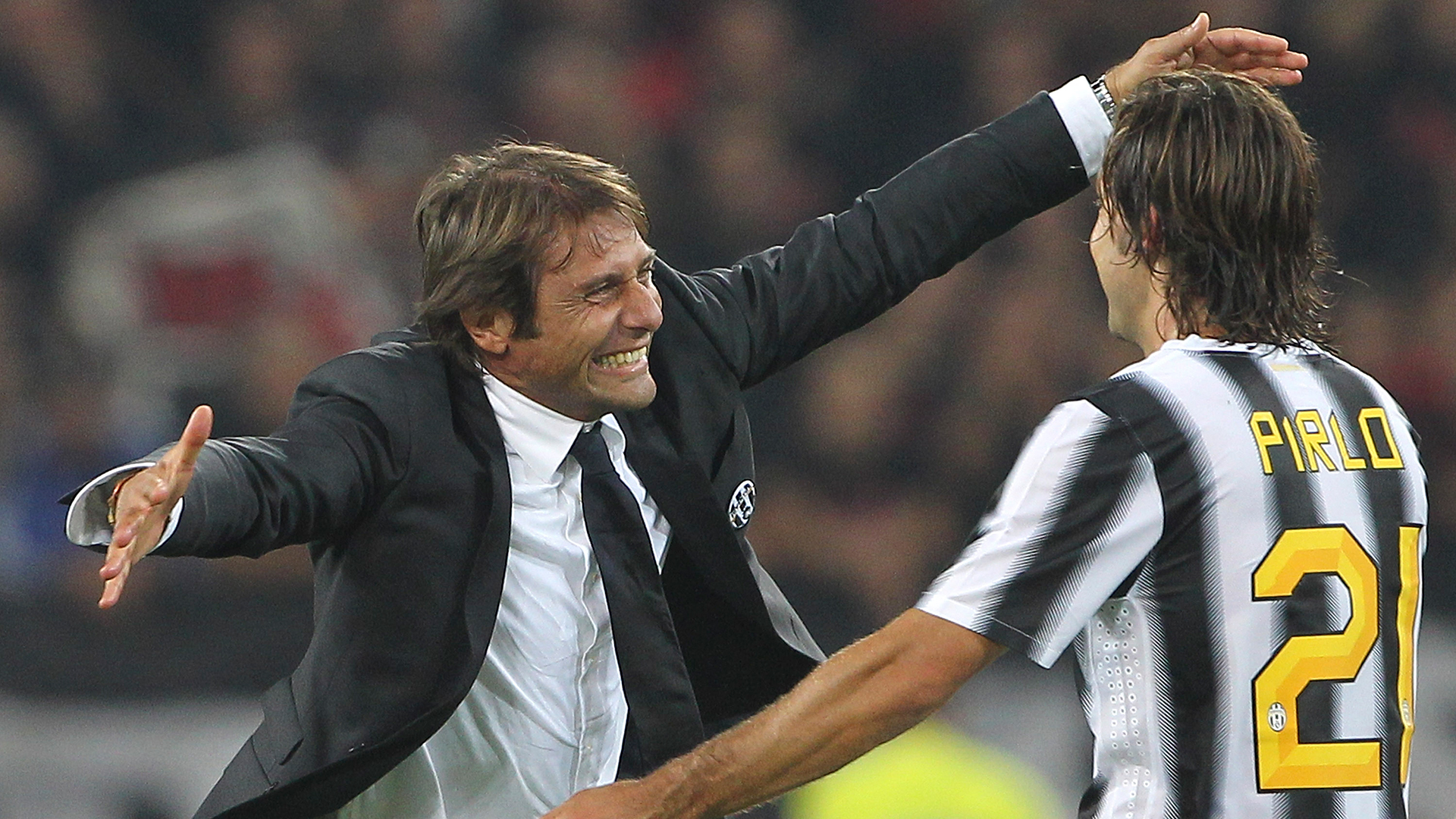 Antonio Conte Andrea Pirlo Juventus