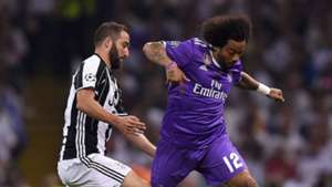Marcelo Gonzalo Higuain Juventus Real Madrid UCL 03062017