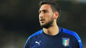 Gianluigi Donnarumma Italy U21